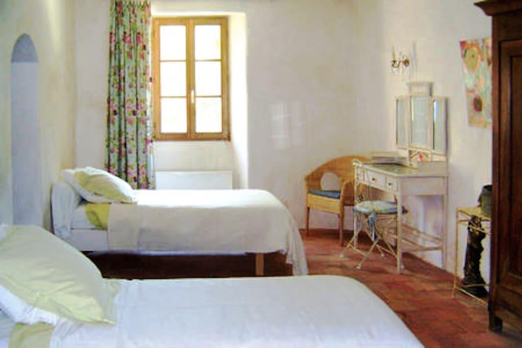 Deuxième pièce configuration en lits simples