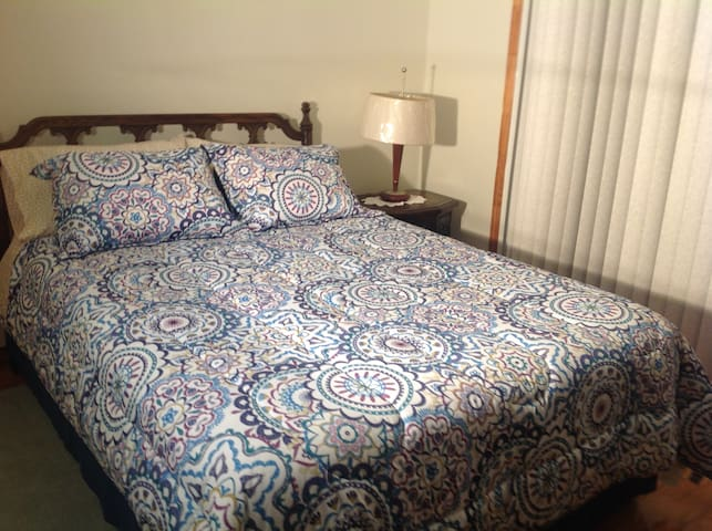 Elegant bedroom 8 mins-JFK&the mall