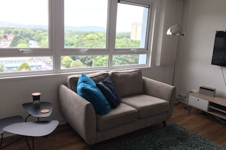 Two bed apartment. Beautiful views over Belfast.