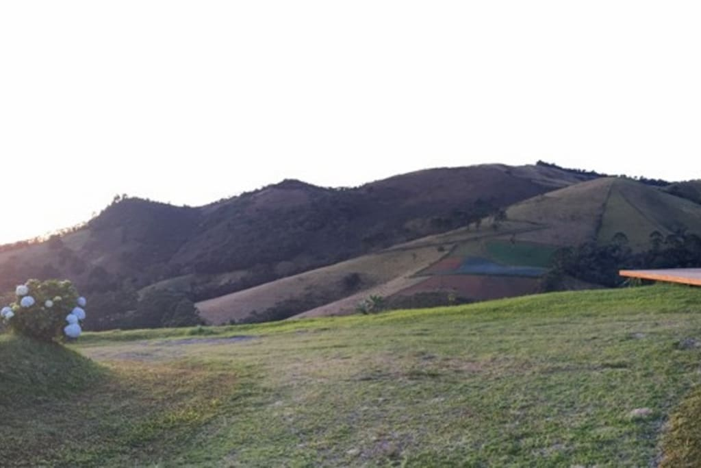 Vista do Deck, só natureza