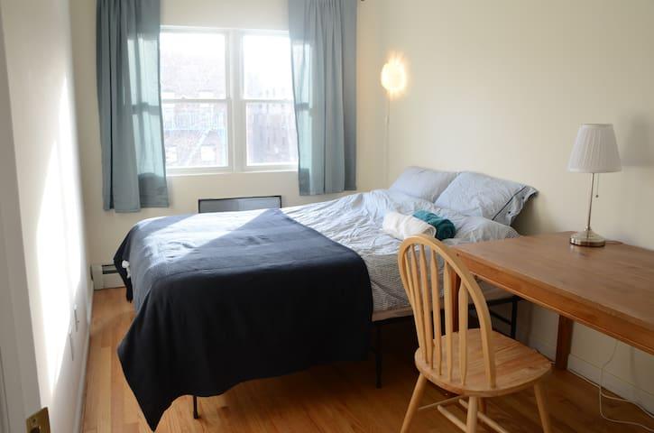 Warm Comfy Queen Bedroom in Crown Heights 3GR