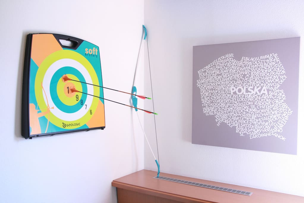 With Xbox Kinect and arrow in the room your kids won't be bored.