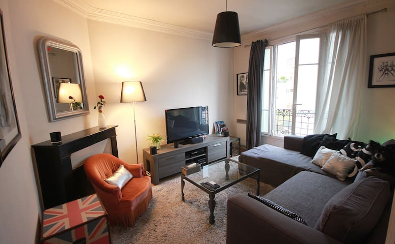 Appartement cosy and good vibes in Paris