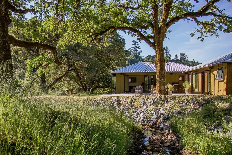 Lovely Creekside Cottage   Cabins For Rent In Boonville, California, United States