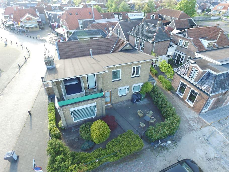 Drone Foto van de Moskeflap