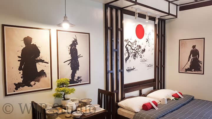 Queen Bed Suite- Japan Japan in Alabang Muntinlupa