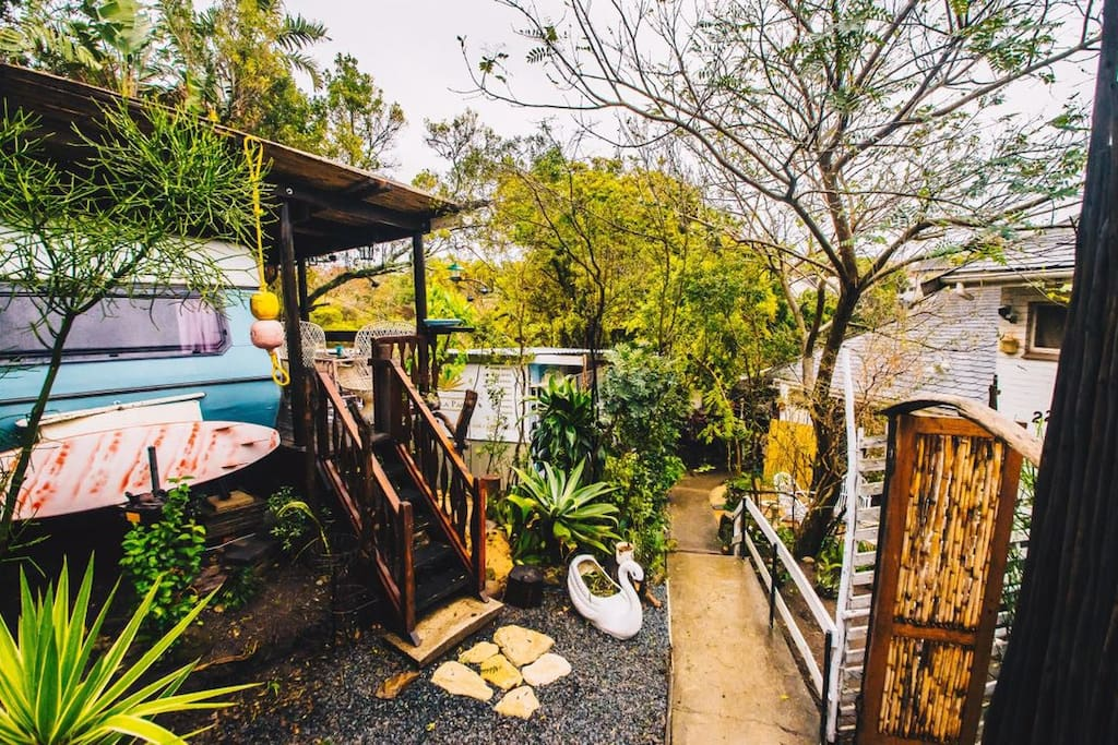 The Wanderlust 1960's Restored Vintage Trailer Self Catering Accommodation Bonnie Doon East London