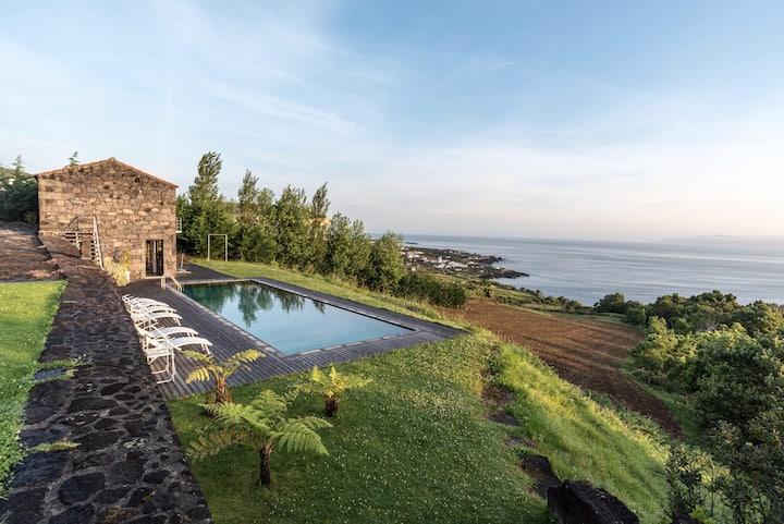 Dream Home & Sea View Pool - Casa da Vista Azul