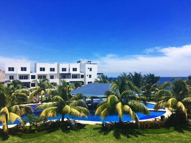 Apartamento en la Playa.    Monterrico