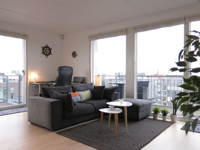 Islands Brygge - Nice View 8th Floor - Close To Center - Luxury Apartment (427-1)