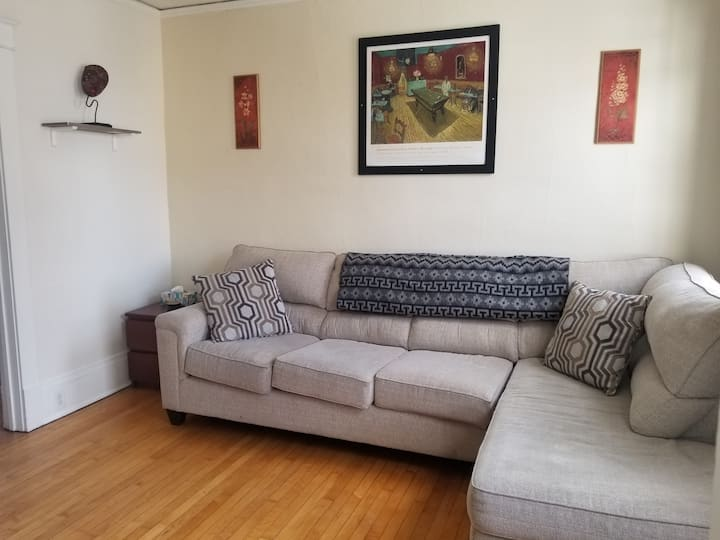 Tasteful 2BR near Brady St!! w/HBO Max