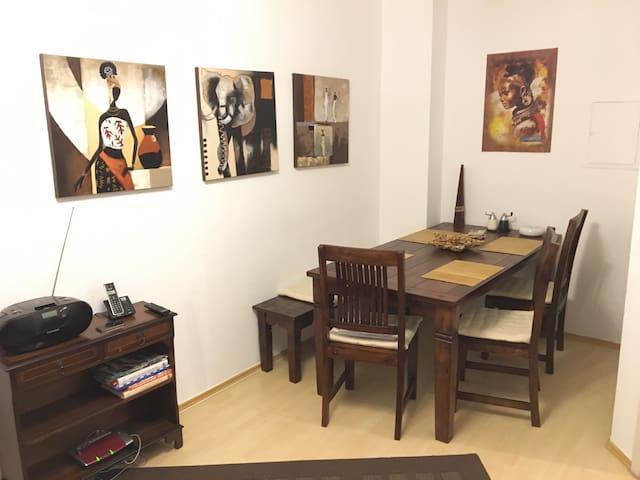 Ruhige Wohnung in Lichtenfels - Lichtenfels - อพาร์ทเมนท์