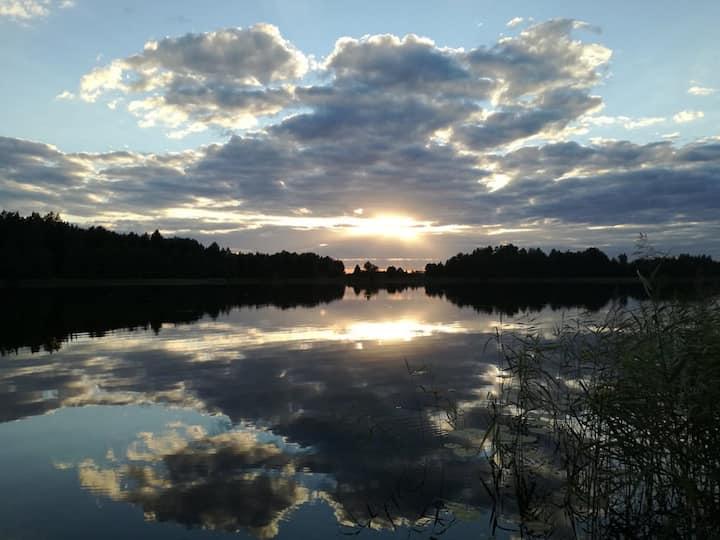 Sielska Parcela nad jeziorem