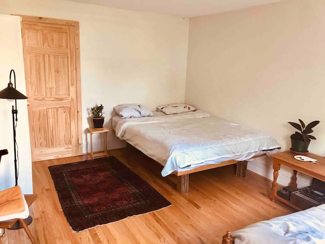 **Private room in our home in Downtown Northampton