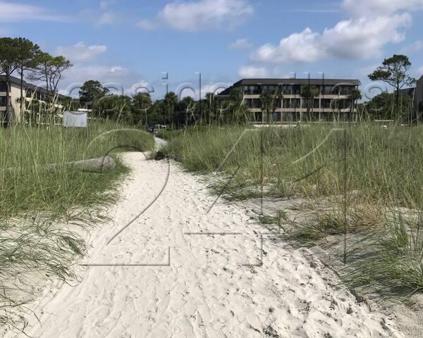 Seaside Villas as seen from the beach