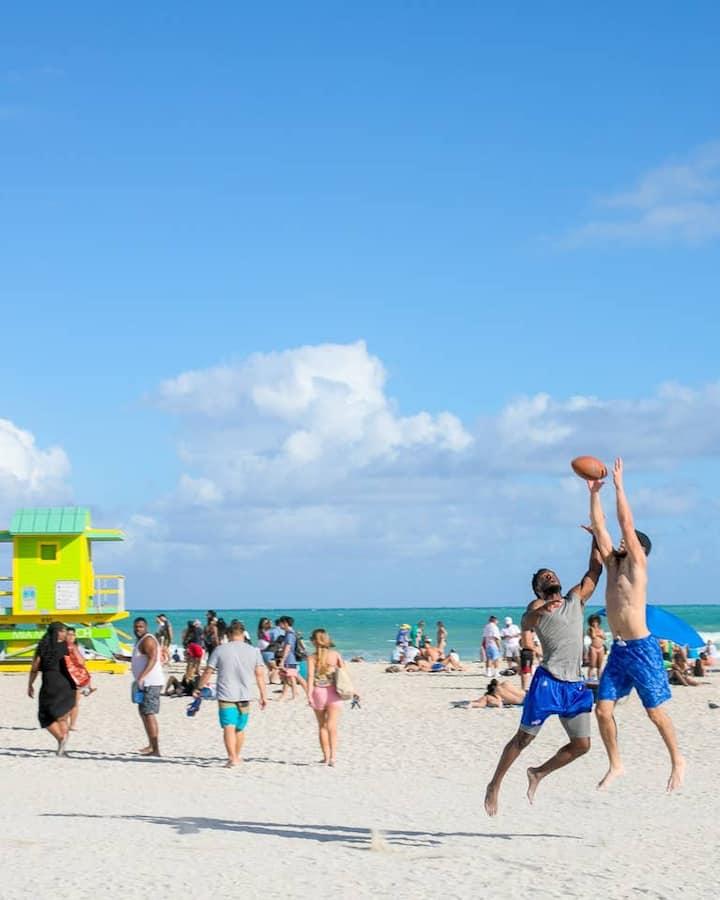 Miami Beach All Star Location Next To Beach