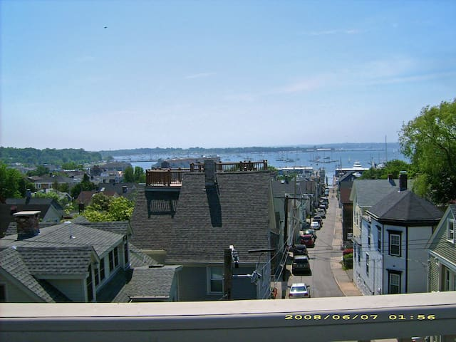 Downtown roofdeck 1 bed apt & park - Newport - Apartment