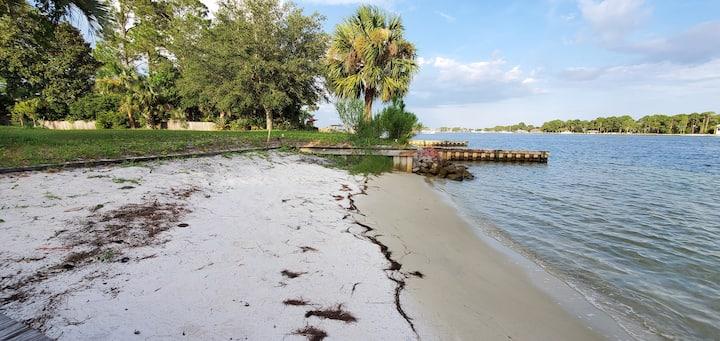 Beachfront Master Suite | Sleeps 7 | Private Beach