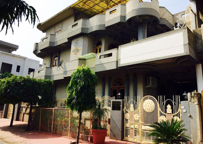 Spacious 2 BHK with 2 baths and terrace