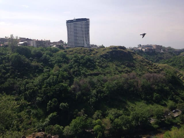 Gorge view from the neighborhoodч04ы8э