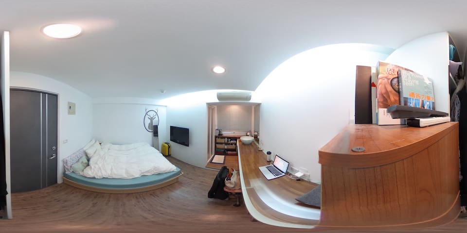 【Downtown Taipei】Beautiful suite for you to stay! - Zhongzheng District - Wohnung