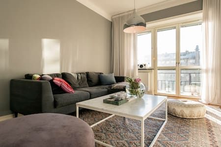 Modern apartment in city center, östermalm - Stockholm