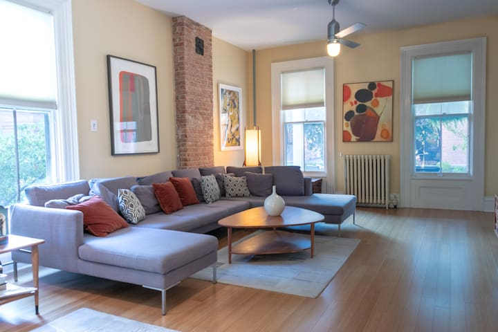 Historic, stylish 4BR - PERFECT downtown location!