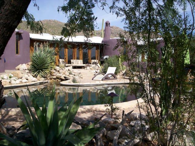 Desert Moon Retreat Main House Architectural Gem