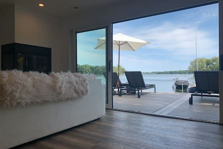 Cove at 420:  Modern Lake Front Home near Chicago