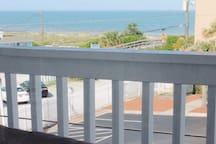 Watch the sunrise, or just spend time on the balcony overlooking the Atlantic