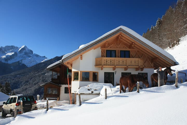 Apartment in the middle of the mountains - Garmisch-Partenkirchen - Byt