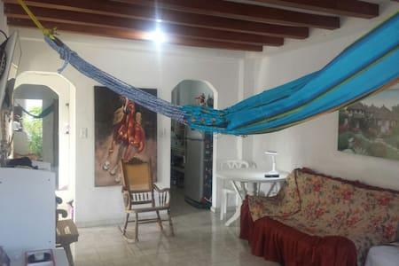 CONFORTABLE HABITACIÓN EN EL CENTRO HISTORICO - Καρταχένα - Διαμέρισμα