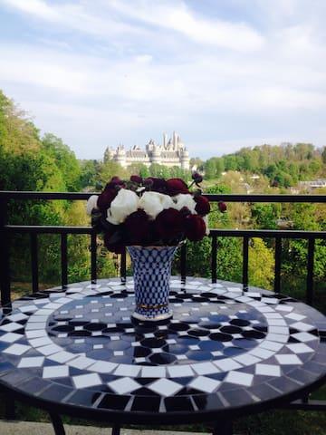 Maison avec vue magnifique sur le chateau - Pierrefonds - House
