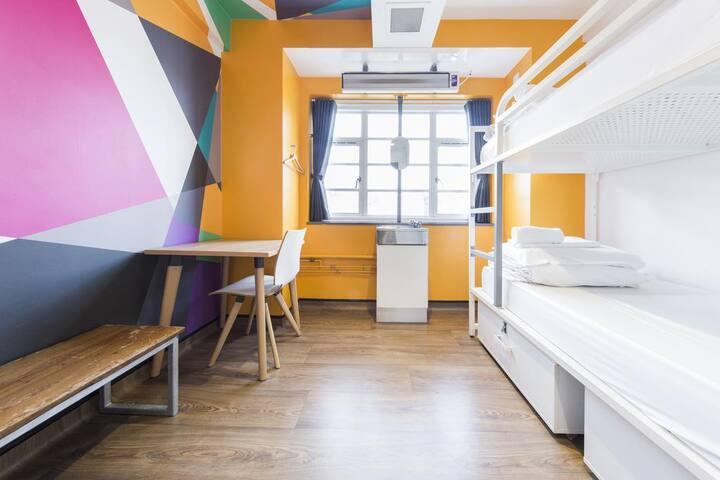 Generator -  Twin Room with Shared Bathroom