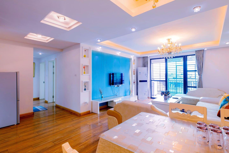 超梦幻轻奢欧派舒适的客厅