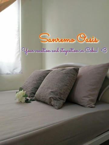 *Stay at Sanremo Oasis Cebu*