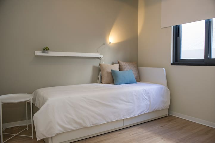 Second room - Single bed or double bed, as needed