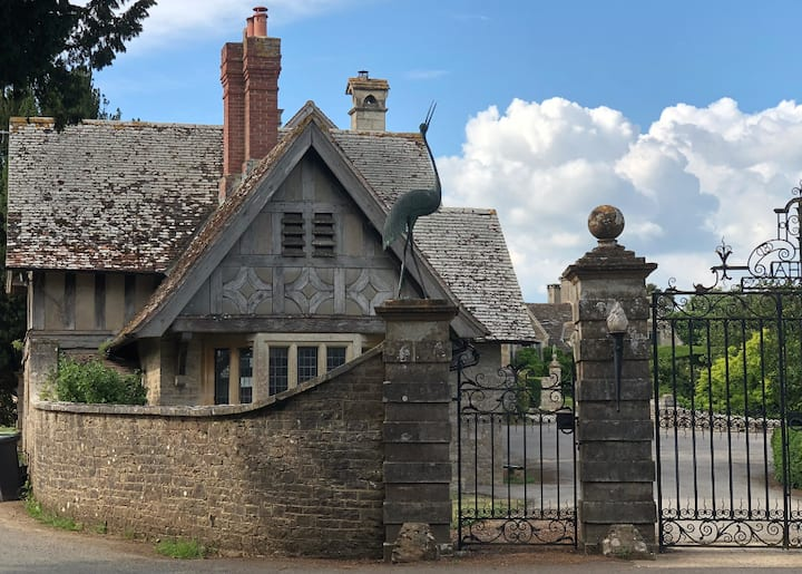 The Historical and Magical Lodge Gatehouse