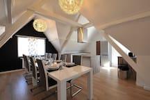 Maison contemporaine 10 pers avec sauna et spa