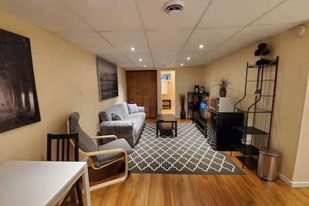 The Heart of River Heights Private Basement Suite