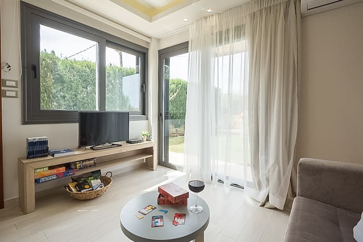 Cozy elegant apt near the sea 'Glaros Casa Verde'