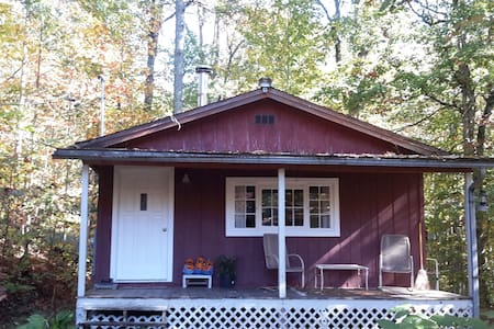 Rustic, Backyard Cabin on 7 Wooded Acres - Brevard - Kisház