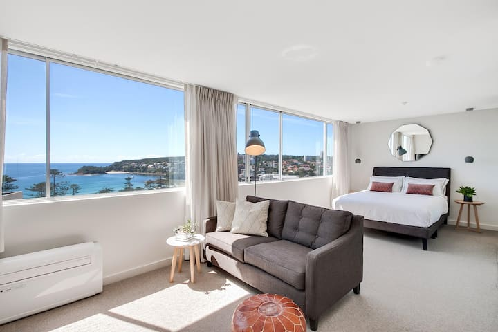 Coastal chic designer apartment - Manly - Departamento