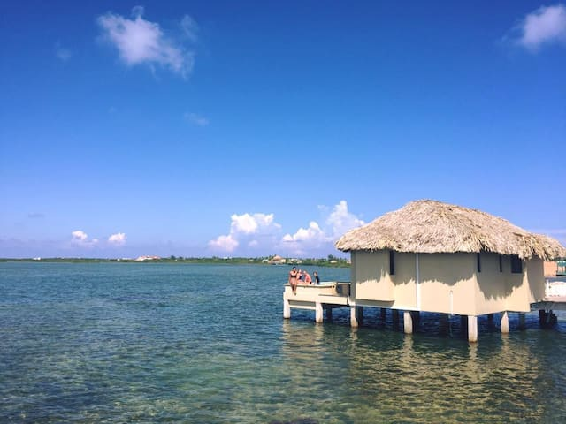 2 Bed Overwater Cabana glass floors & private pool