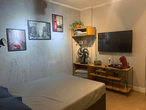 Studio no Centro de São Vicente próximo à praia!
