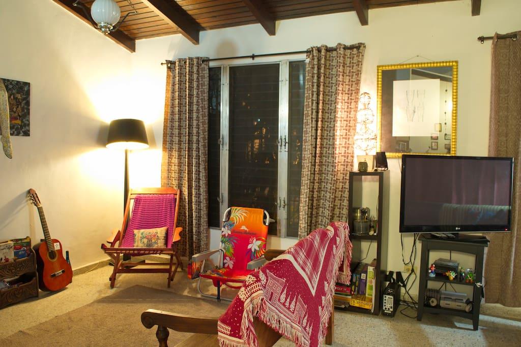 Living Space/Sala de Estar