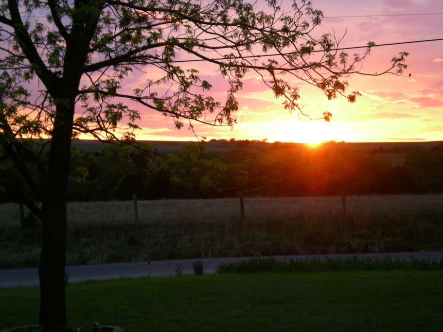 You are going to love the evening view from our front porch.