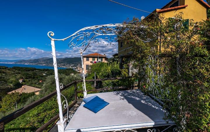 Villa Pissorella , luxury property in Camogli