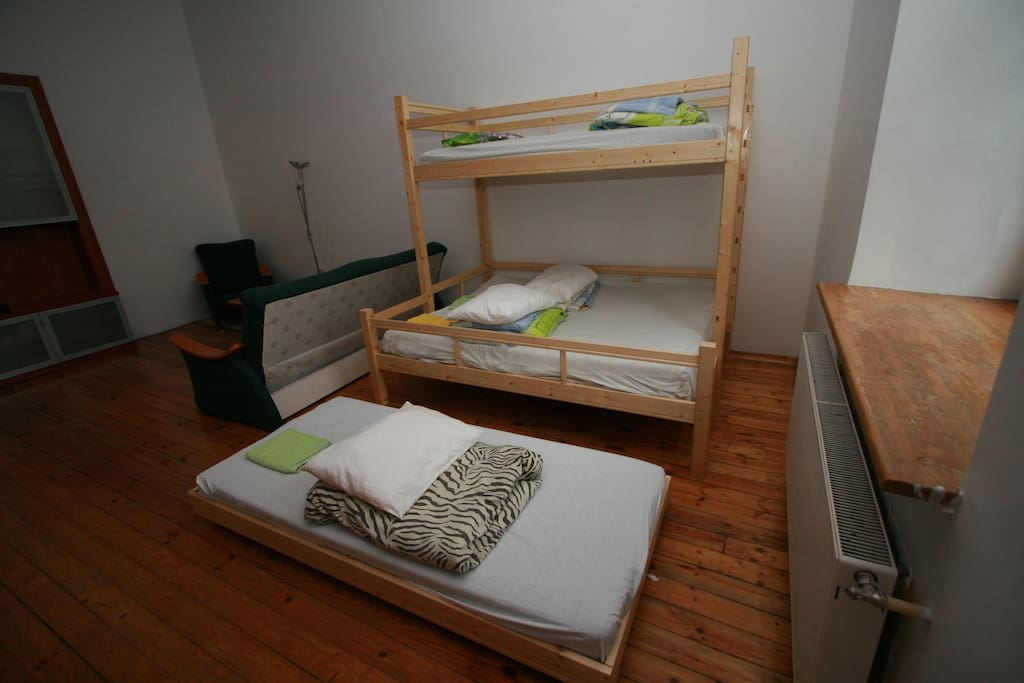 one single bed are movable and may be easily moved to your desired perfect place.