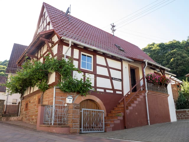 Ferienhaus Schaaf - Dörrenbach - Talo